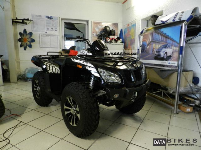 2011 Arctic Cat  425 i 4x4 LOF approval Motorcycle Quad photo