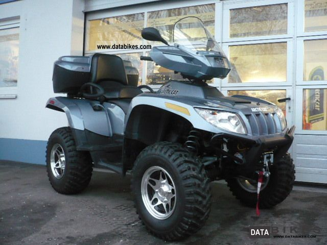 2010 Arctic Cat  700 TRV Cruiser / 4x4 with LOF / ZM approval Motorcycle Quad photo