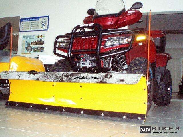 Arctic Cat  1000i H2 Cruiser incl LOF + snow shield 2011 Quad photo