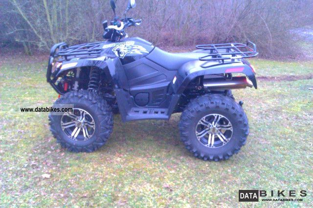 2011 Arctic Cat  700 Panther one of the last Motorcycle Quad photo