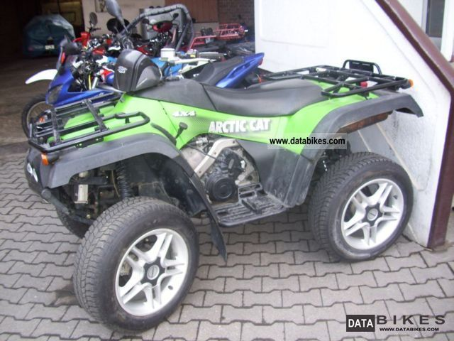 2004 Arctic Cat TRV 500 4x4 ATV Quad