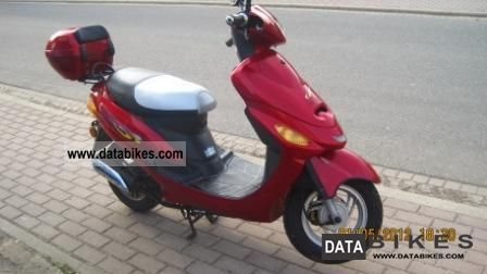 2005 Baotian  BT50QT-9 Motorcycle Scooter photo