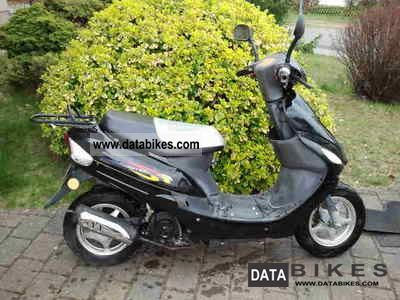 2005 Baotian  BT50 QT-9 moped registration Motorcycle Scooter photo