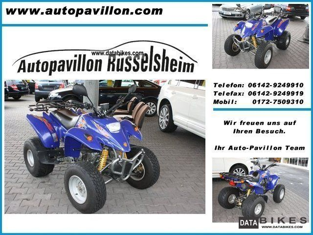 2008 Barossa  Quad AAM 170 250 cc / UP TO 100KMH Motorcycle Quad photo
