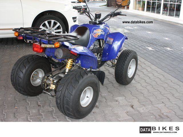 2008 Barossa Quad AAM 170 250 cc / UP TO 100KMH