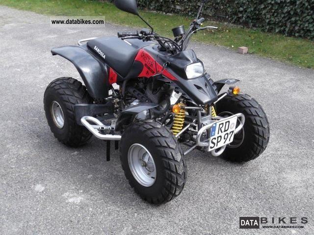 Quad Barossa AAM 170 mit Sportauspuff baugleich - Bestes