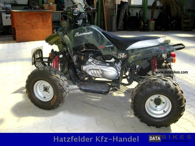2007 Bashan  ATV Quad BS150S-2 with reverse gear / low km Motorcycle Quad photo