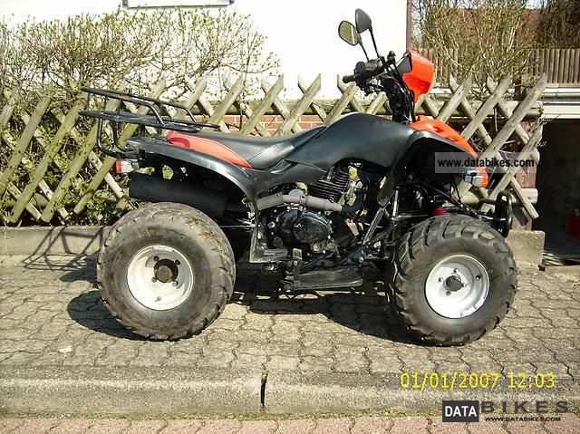 2006 Bashan  BS 200S - 3A Motorcycle Quad photo
