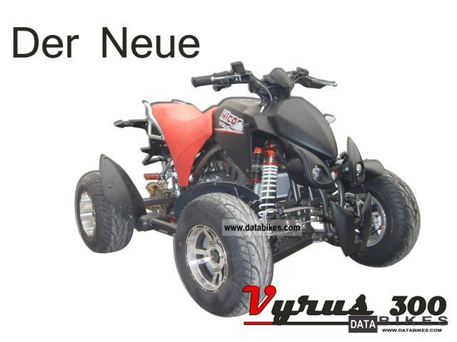 2011 Bashan  MICON NEW Vyrus 300 Motorcycle Quad photo
