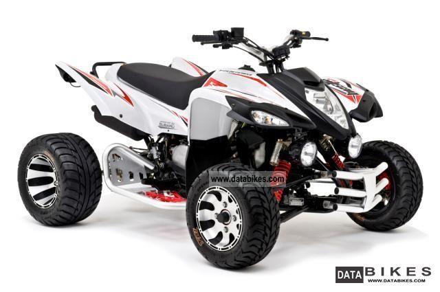 2011 Beeline  Bestia 5.5 Supermoto LOF Motorcycle Quad photo