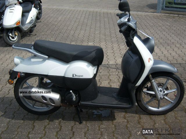 Benelli  Pepe 50 LX / Großradroller 2009 Scooter photo