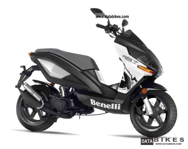 2011 Benelli 49x Scooter Motor Scooter White New
