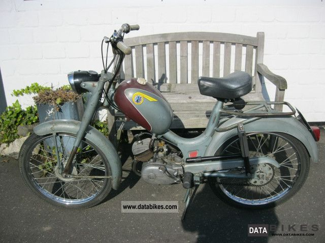 Beta  50 3Speed ​​moped 1964 Vintage, Classic and Old Bikes photo