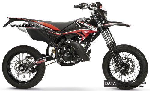 2011 Beta  RR 50 Super Moto `12: Red, Black Motorcycle Lightweight Motorcycle/Motorbike photo