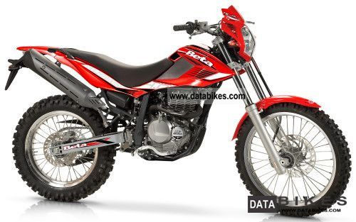 2011 Beta  Alp 4.0 `12: Mother of pearl white, red fluorescence Motorcycle Enduro/Touring Enduro photo