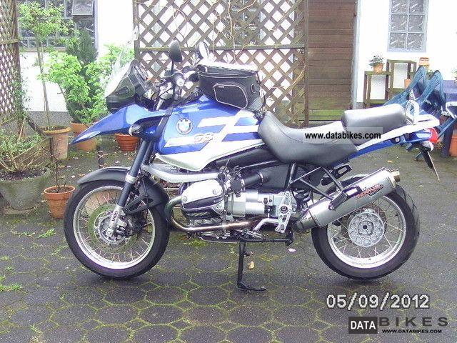 2002 BMW  GS 1150 Motorcycle Enduro/Touring Enduro photo