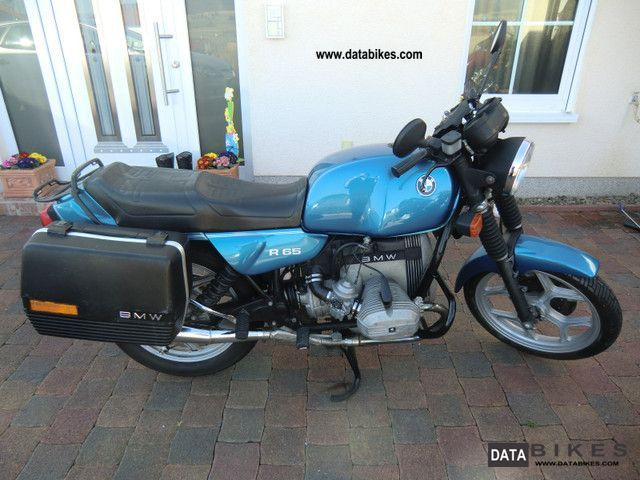 1986 BMW  R65 Motorcycle Motorcycle photo