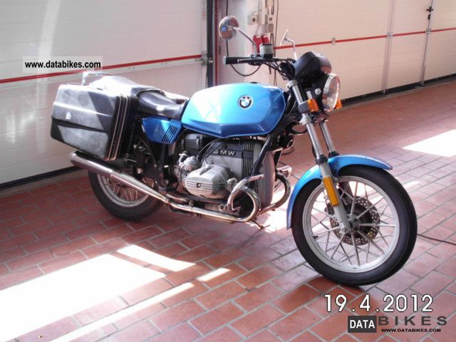 1981 BMW  R 45 Motorcycle Motorcycle photo