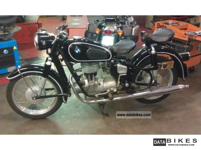 BMW  R 26 250 cc 1958 Vintage, Classic and Old Bikes photo