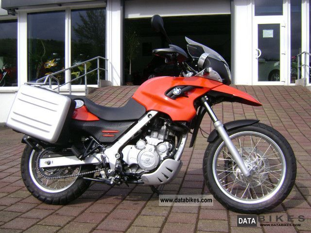 BMW  F 650 GS ABS heated grips case Lowered 2006 Motorcycle photo