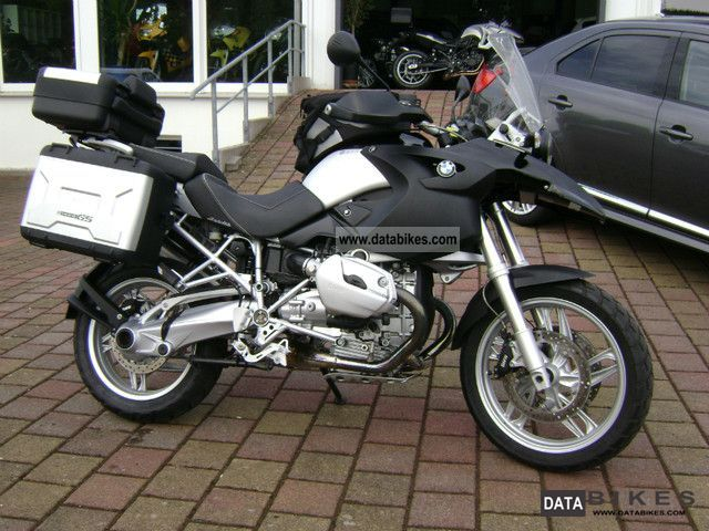 2007 BMW  R 1200 GS ABS Case top box Akrapovic ESD Motorcycle Motorcycle photo