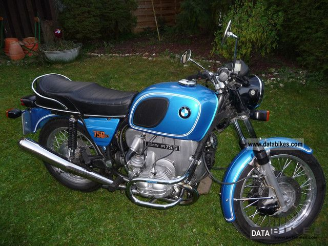BMW  R75 / 6 1975 Vintage, Classic and Old Bikes photo
