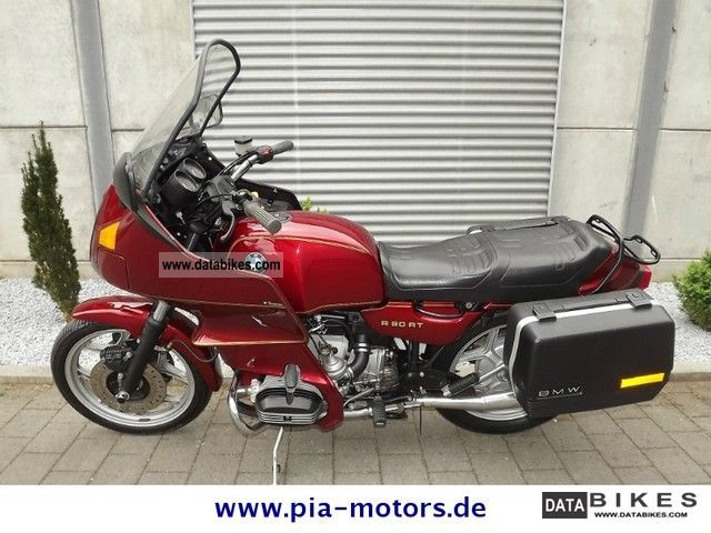 1986 BMW  R 80 RT top condition / 3660km Motorcycle Tourer photo