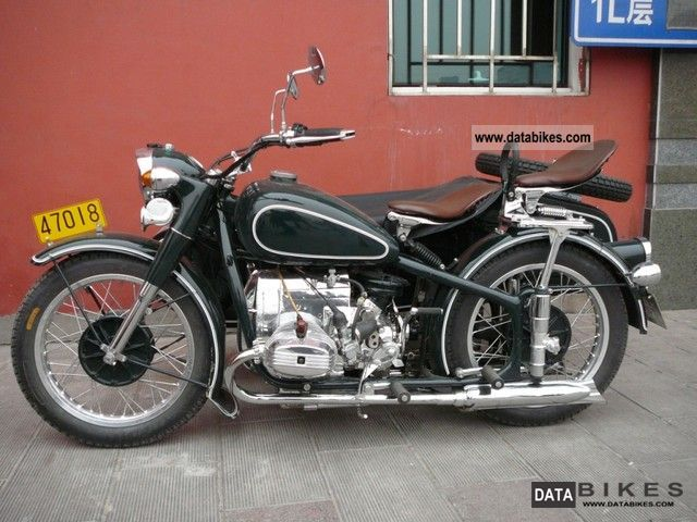 BMW  CJ750 1968 Vintage, Classic and Old Bikes photo