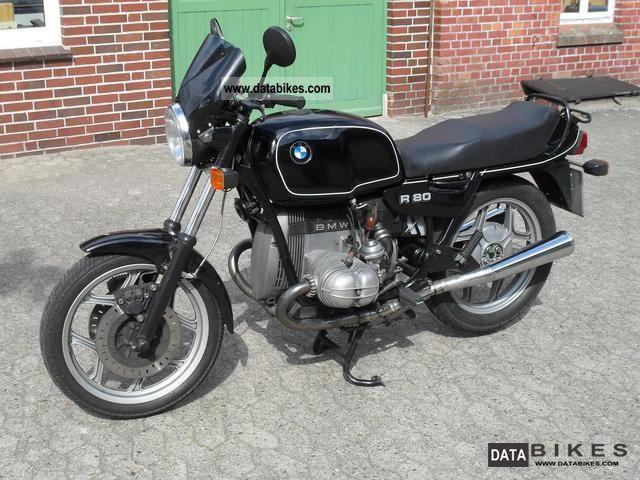 1986 BMW  R 80 Motorcycle Naked Bike photo