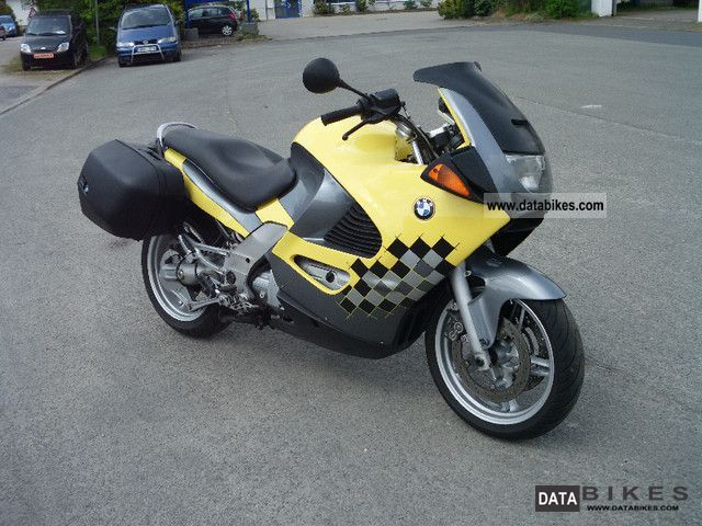 1998 BMW  1200 RS ABS case with Motorcycle Tourer photo