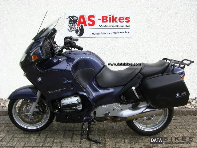 2002 BMW  R 1150 RT HG suitcase incl Car Warranty Motorcycle Tourer photo