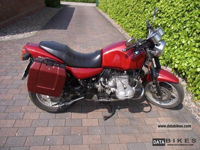1995 BMW  R100R Mystic Motorcycle Naked Bike photo