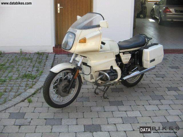 1981 BMW  R100 RS Motorcycle Tourer photo