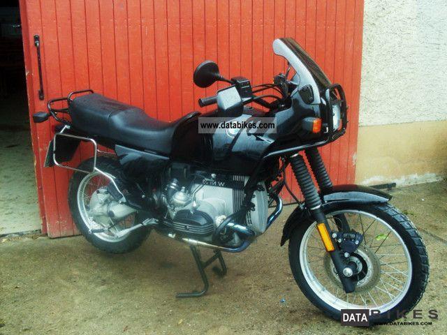 1992 BMW  R80GS Motorcycle Enduro/Touring Enduro photo