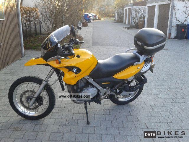 2001 BMW  F 650 GS Motorcycle Enduro/Touring Enduro photo