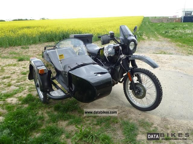 1986 BMW  R 80 G / S Motorcycle Combination/Sidecar photo