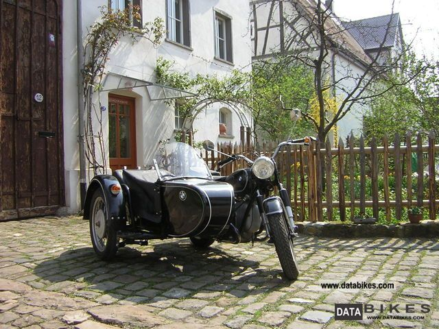 BMW  R 50 1955 Vintage, Classic and Old Bikes photo