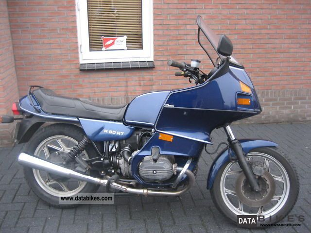 BMW  R 80 RT 1989 Motorcycle photo