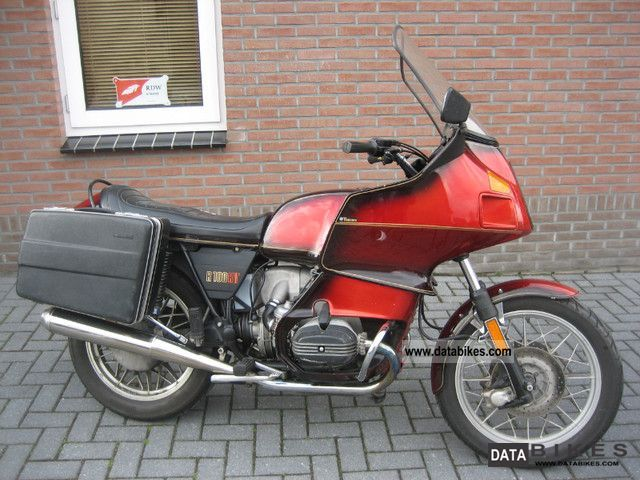 1981 BMW  R100RT, CASE, ONLY 53 687 KM Motorcycle Motorcycle photo