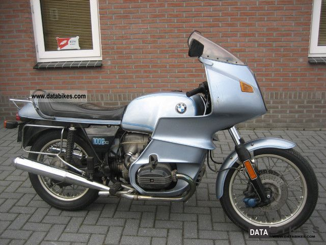 BMW  R100RS, DC :04-1977, SPOKE WHEEL 1977 Vintage, Classic and Old Bikes photo