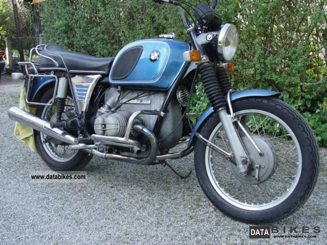 BMW  R 75/5 1972 Vintage, Classic and Old Bikes photo