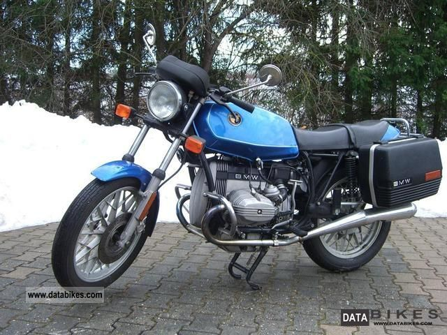 1986 BMW  R 45 Motorcycle Motorcycle photo