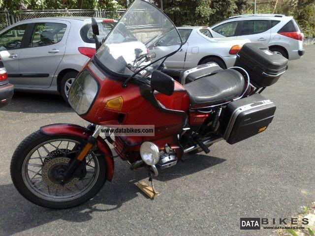 1982 BMW  R 100 RT Motorcycle Tourer photo