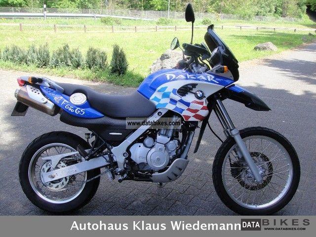 2001 Bmw F 650 Gs Dakar 1 Hd Orig Only 14 Tkm