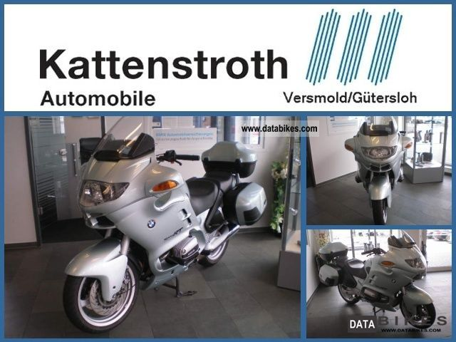 1995 BMW  R 1100 RT facelift conversion heated grips topcase Motorcycle Tourer photo