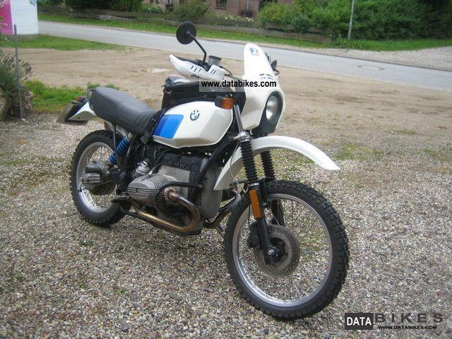 1986 BMW  R 80 G / S 86 Bauj original G / S 1000 cc Siebenrock Motorcycle Enduro/Touring Enduro photo