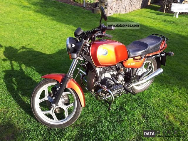 1991 BMW  \u003e TOP \u003cR65 * original * Motorcycle Motorcycle photo