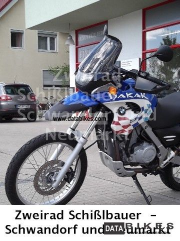2001 BMW  F 650 GS Dakar, only 5873 km Motorcycle Enduro/Touring Enduro photo