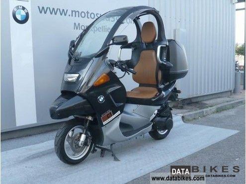 2001 BMW  C1 Motorcycle Lightweight Motorcycle/Motorbike photo