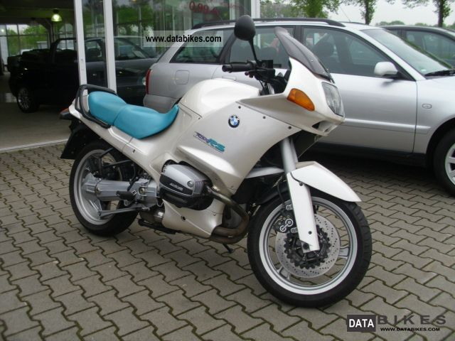 1994 bmw r 1100 gs with system case set. Black Bedroom Furniture Sets. Home Design Ideas